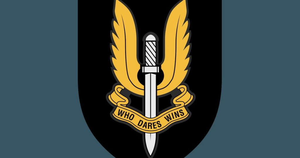 SAS Logo Who Dares Wins